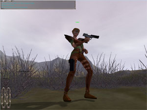 Elf with Desert Eagle and Holster